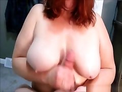 Mature trachers big braazz obviously likes to jerk fat cocks and make them cum
