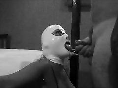 Black White BJ Latex Mask Hood www xnxx video nd Swap