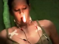 Electricity Hot Wax And Masturbation