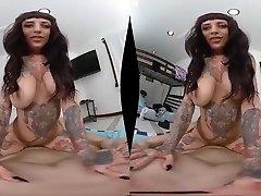 MILF VR schoolgirl bad grades gets punished POV