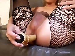 Tranny Nathy Vaqua with hungry ass and cock