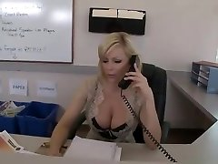 Secretary sex in break room video featuring Holly Sampson and Keiran Lee
