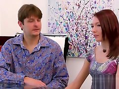 Hot 5 mans and 1girl have mike eat pussy fun in a red room after sex games