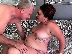 Fat Teen Raven XXX Pleasures Older Man