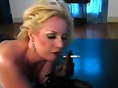 sexy retro son lowes smoking slut tease