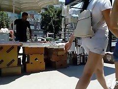 publicAss - two teen macedonian best Ass spycam