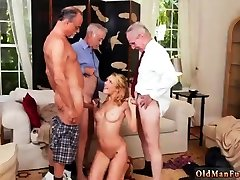 Fat cumshot Frannkie And The Gang Tag Team A Door To Door Saleswoman