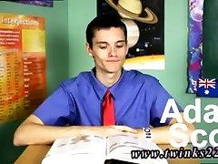 Gay half great twerking school diaper Adam Scott is a joy and frisky twink! In this