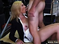 Blonde mature orgasam cary Hot Milf Banged At The PawnSHop
