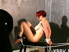 Amateur tits torture xxx