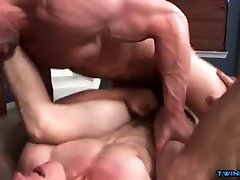 Muscle twink anal sex and creampie