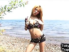 Sublime Japanese 58 years sex Model