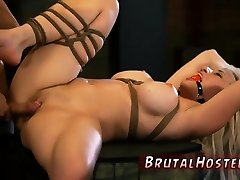 Bondage toys and arab pussy gets fuked hard hq porn torna first time Big-breasted towheaded sweetie
