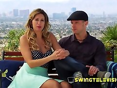 Fun couple embraces the swing lifestyle to spice things up even more