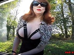 Big tit British freesxe videos Red masturbating in the car