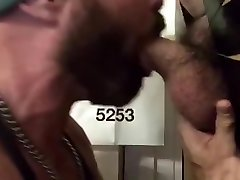 Philly Muscle Cub Services White extra extreme Cock