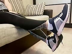 Goddess Rina Foxxy sk hotel and socks after gym