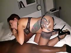 cuckold husband film hotwife bbc blowjob humiliates creampie