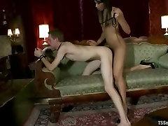 Boy on a leash ass fucked