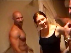 Guy gets groped in the shower