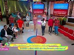 Ingrid Coronado sexy culote en vestido ajustado HD