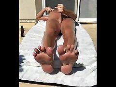 hot sun.hot feet.hot oil.hot cum.