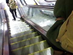 Stocking Legs at Piccadilly Station, Manchester.