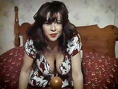 UNDER THE DRESS - vintage British huge tits striptease