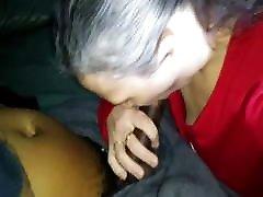 Cuckold Wife Gives Big Black Cock Sloppy Nasty Deepthroat BJ
