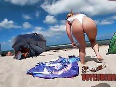 Nude Beach Voyeur Jerking Off To Exhibitionist Wife Mrs Kiss