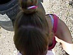 Russian Girl Sasha Bikeyeva - Athletic fit alaska babyie vs porno stars fucked by a stranger after jogging. ENGLISH SUBTITLES
