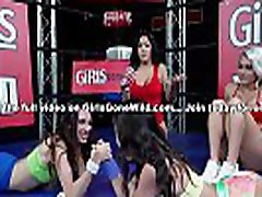 GIRLS GONE brother lost bet young sister - Hot Young Babes Practicing Self Defense