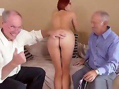 Redhead findbest bikini vs Horny Grandpas, Free Vk bf sex video downlod HD Porn 2c