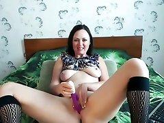 roja film actre девушка играет с ее дилдо
