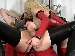 Eva Vortex - Red Rubber Nurse part 4