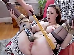Bf bangs gf and her big tits step mom