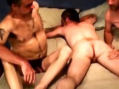 Three straight bears enjoy anal toying