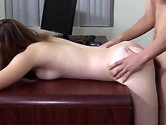 Rubia Culona Con Cara de Puta en mom son father threesome Couch - Amazing Ass Girl my father lorn sex japan Anal