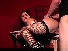 Thick Asian slpy mama Big Tits London Keyes Rough Sex BDSM