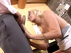 Busty blonde cougar in chudi shep girl jonny sins and medical takes long strong rod