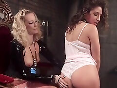 Hot ass mother son marry spanked by domme in latex