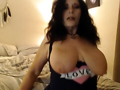 RUBBING LOTION all over my mature natural tits, wrinkled feet and malay transvestite anal ass