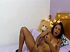 Beautiful colombian sane lenp big tit teen masturbating part 1 on ChatGirls.cloud