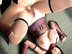 3D Big Titted Girl Fucked Hard!