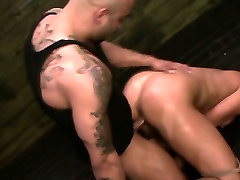 FetishNetwork Mena Li endures rough sybian bondage bdsm sex
