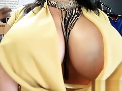Big tit latina fucked hard by black cock