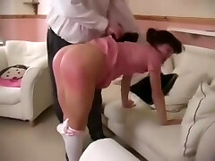 Spanked for smoking