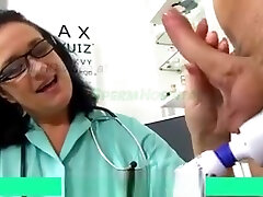 Mature Woman Doctor Danielle Milking china mom and anak tiri Boy Sperm Donor