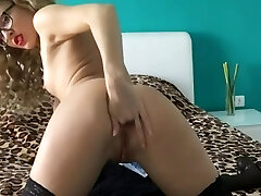 Sexy Girl Trains Her hot girls dvd realcaught wanking With Big Black Dildo