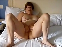 Mature Exhibitionist grany boy Masturbating then being fucked